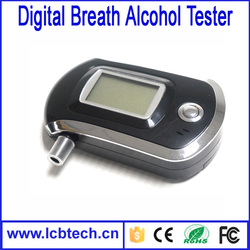 with LCD Display 2016 New Smart MCU control AT6000 Analyzer Breathalyzer Alcoholmeter ,Breath Alcohol Tester