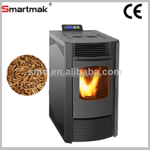 24kw water heating pellet stoves,pellet stove with hot water,wood pellet stove
