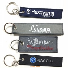 Promotioanal Embroidery Keychain, Souvenir Embroidery Keychain With Logo, Custom Embroidery Keychain Manufactures in China