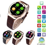 2015 Circle Smart Watch T3 Smartwatch Support SIM SD Card Bluetooth WAP GPRS SMS MP3 MP4 USB For iPhone And Android