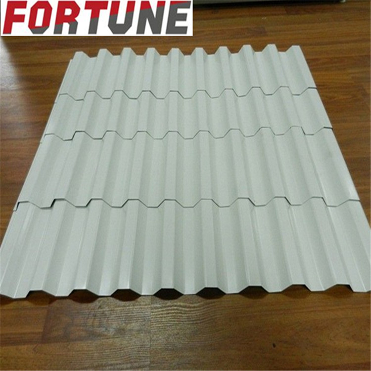Different color hot dip galvanized corrugated steel metal roofing