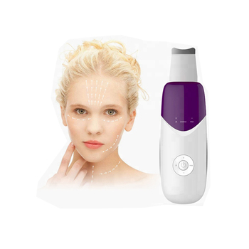 Portable ultrasonic skin scrubber for home use
