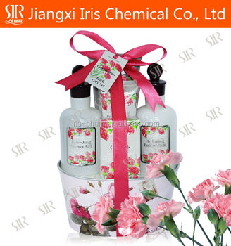 Shower gel of carnation series