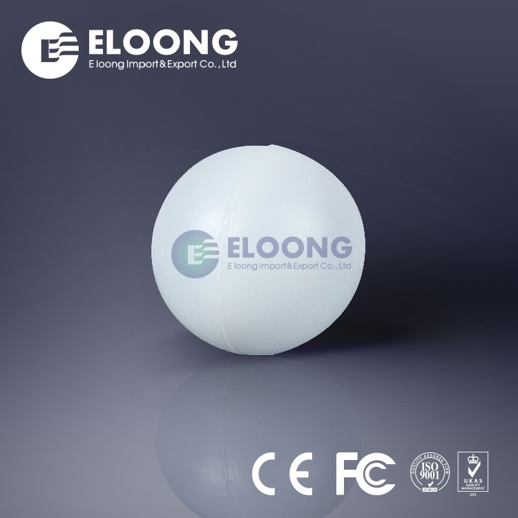 50mm Heat Resistance Plastic Demisting Hollow Ball In Industry Tower Use