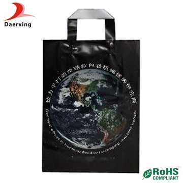 china made plastic shopping bag with handle