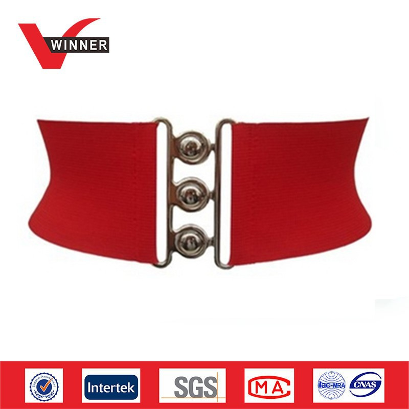 Fashion wide red <strong>belt</strong>