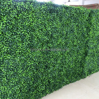 Plastic Artificial Boxwood Hedge