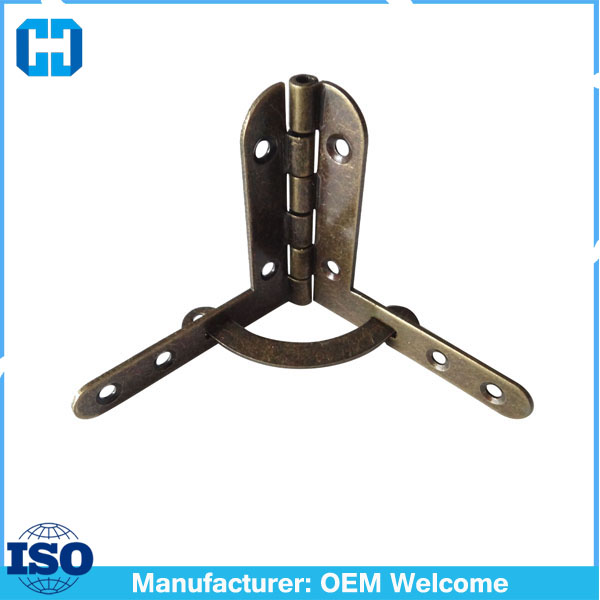 Factory Supply High Quality Metal Quadrant Hinges For Small Wood Box