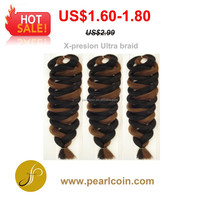 On Sale Toyokalon Fiber Bulk Hair Braiding Jumbo Xpression Ultra Braid