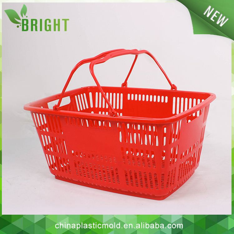 cheap plastic basket with handle plastic basket