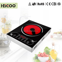 Infrared induction cooker ceramic plate