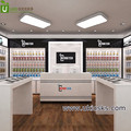 Hot selling new arrival mobile phone store furniture /mobile phone shop design modern acrylic computer display stand