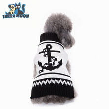 Fashion Clothes Dog Jumpers Sailor Design Pet Dog Sweater