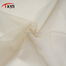 fuzhou textile base cloth polyester 4 way stretch knitted mesh fabric for wedding dress