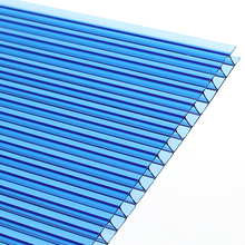 Wholesale two layer 4x8 sheet plastic polycarbonate sheet for parking shed