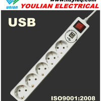Electric Socket With USB Charge 16A