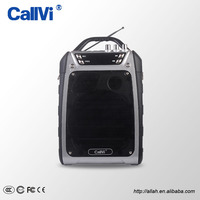 Callvi 10000MAH High Capacity Multifunction UHF Wireless PA Amplifier with Wireless Transmitter