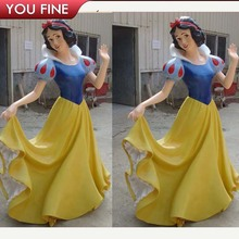 Garden Decor Stone Carving Marble Snow White Statue