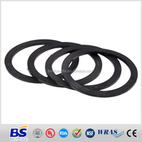 China customized round rubber spacer