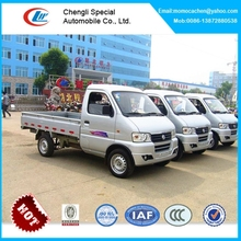 China mini pickup truck for sale dongfeng single cabin mini trucks gasoline engine cargo truck 1tons for sale
