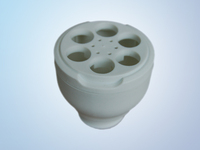 PBT / PC energy saving lamp/CFL base/socket/ holder for 18W 20w 26w 30w half spiral energy saving light