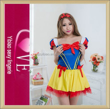 New Arrival Cheap Lolita Dress Japanese Latex Maid Costume Sexy Lingerie