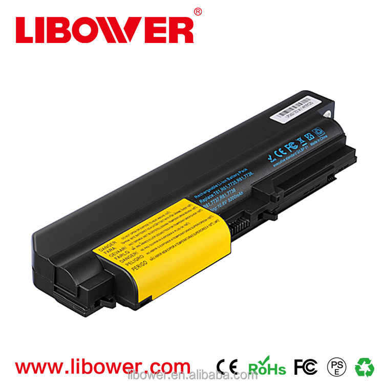 10.8V 4800ma orihginal Laptop Battery For Lenovo Ibm Thinkpad R61 R61i T61 T61p R400 T400