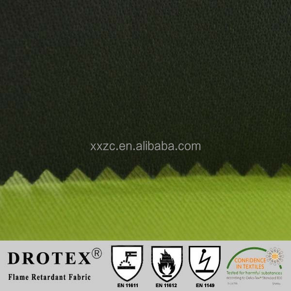 CPAI-84 FR pu coated cotton fabric for Canada Market