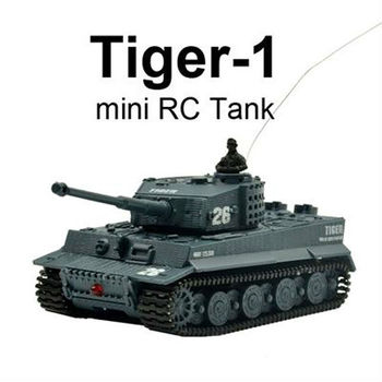 rb-012117 1:72 Mini toy Tiger-1 RC Tanks