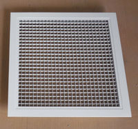 Hvac egg crate ceiling air grille