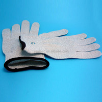 Magnetic conductive electrode therapy gloves for digital pulse machine