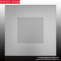 hot sale multi-purpose standard lay-in square aluminum suspended ceiling perforated