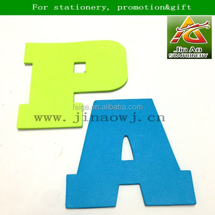 Letter shaped sticky notes buy sticky noteletter shaped for Buy letter shaped sticky notes