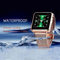 hotsale android smart phone android smart watch IOS smart phone bluetooth mp3 waterproof smart watch