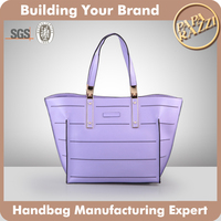 4089 Ladies high quality PU handbag famous brand name tote bag factory price