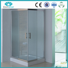 ABS Composited Board Tray fiberglass enclosure shower cubicles price safety glass enclosure