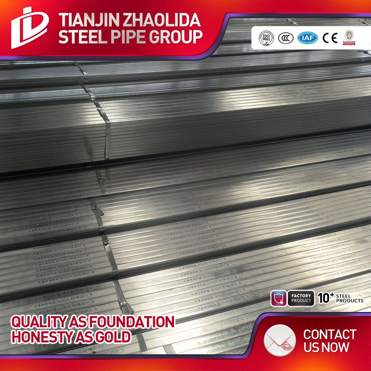 To 10 China Steel factory tubos galvanizados Q235 Gi Welded Square Pipe}