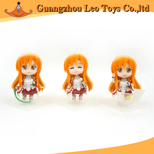 Hot Girls Anime PVC Figure 7cm Sword Toys Cheap China Toys