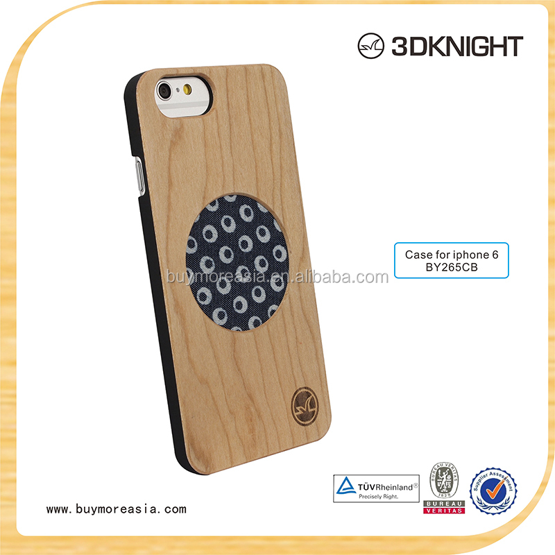Hot selling cell phone accessories,bamboo wooden cases for iphone 6