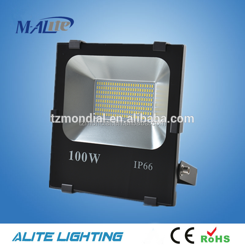 2016 CE RoHS IP66 Outdoor SMD LED Floodlight 50W flood light