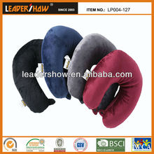 microbeads stuffed travel pillow as seen on TV.air filled pillow.polyester ball filled pillow