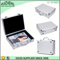 Professional custom aluminum carrying case silver book case