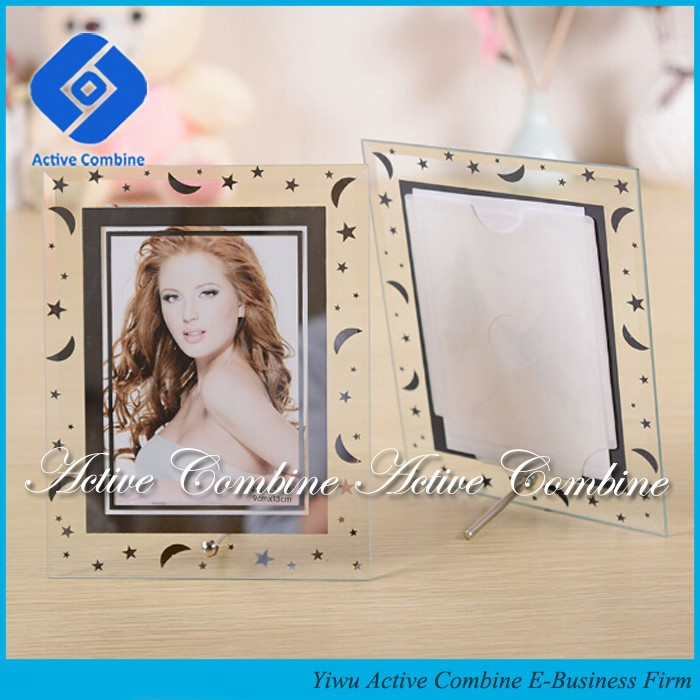 Put Your Picture In Anniversary Presents Lover Gifts Crystal Glass Photo Frame