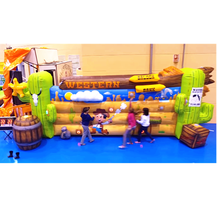 inflatable interactive lighting sport challenge game/ IPS system