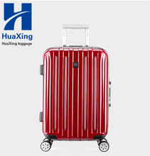 abs spin wheels trolley luggage trolley bag aluminum frame style/aluminum luggage case/ luggage factory aluminum luggage case