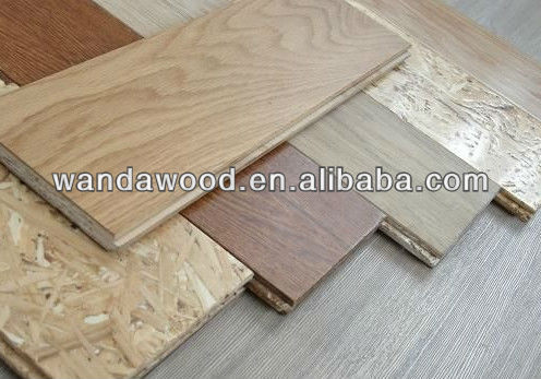 OSB3 board(oriented strand boards) with groove and tongue