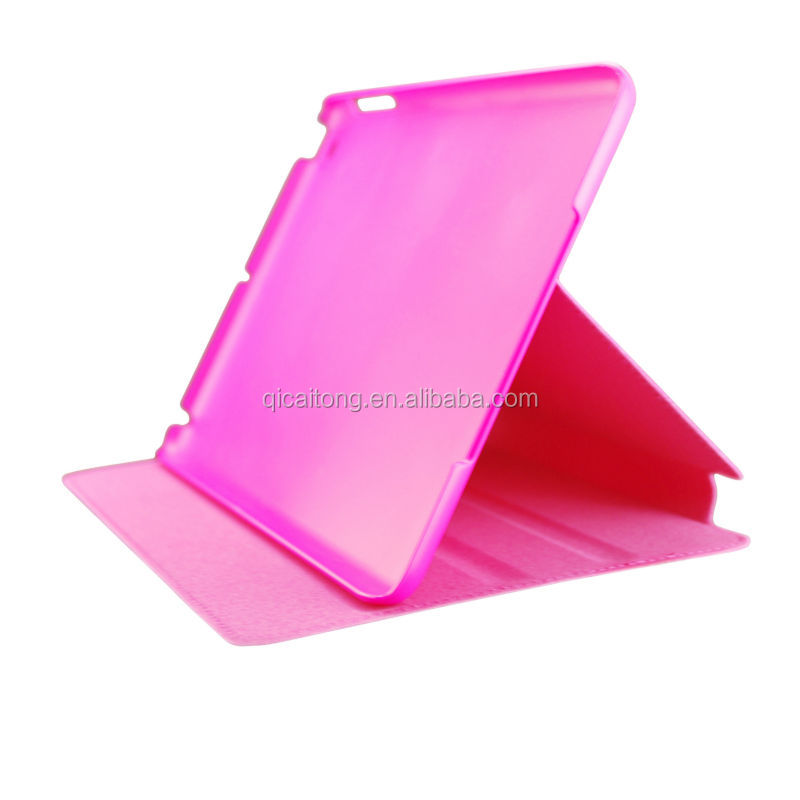 High Quality For iPad Mini 2 Flip Stand PU Leather Case