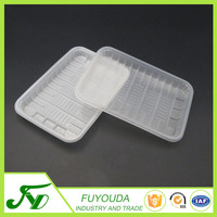 Factory custom white small plastic container food packaging