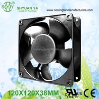 High Speed Industrial Cold Air Crawl Space 120mm DC 12V Fan