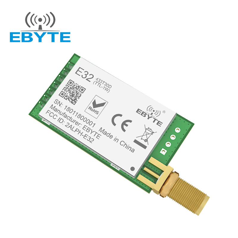 Sx1278 433mhz Radio Telemetry China Iot Gps Uart Sx1276 Wireless 170mhz Lora Module 1278 868 EbyteAustrila For Water Meter